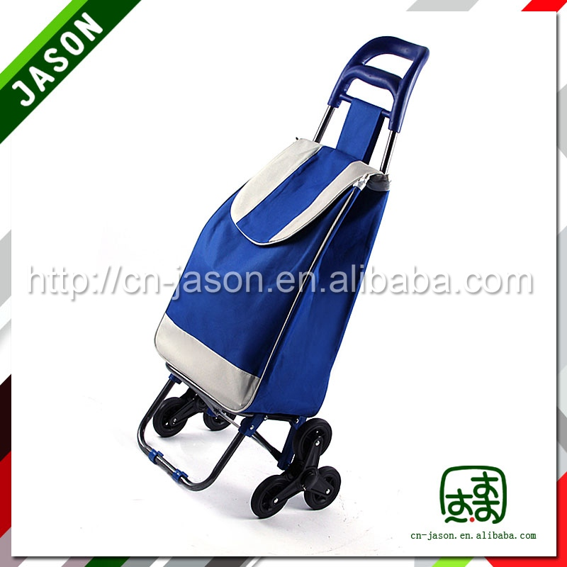 useful travelling 600D polyester bag with trolley