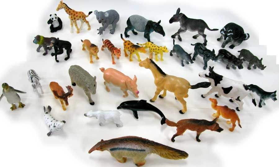Animal Plastic Figurine