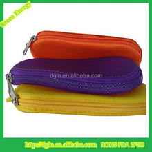 High quality zipper silicone wallet/silicone purse/silicone coin purse