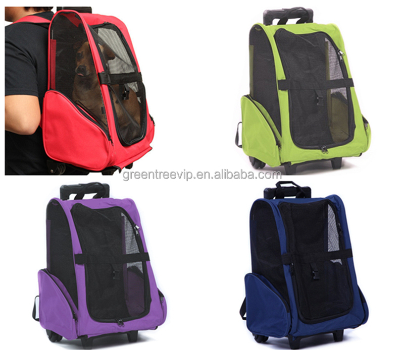 foldable oxford dog bag pet carrier bag