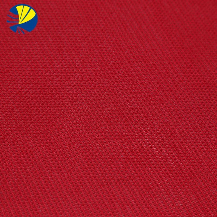 warp knitting polyester mesh fabric hole cloth Sweat breathable fabric T-shirt fabric