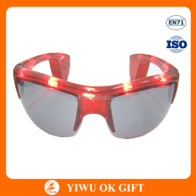 Flashing LED Man's Sunglasses, Crazy Party Sunglasses, funky party glasses
