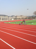 IAAF approved Rubber running track Sport Flooring Sport surface Full Pour Athletic runningTrack