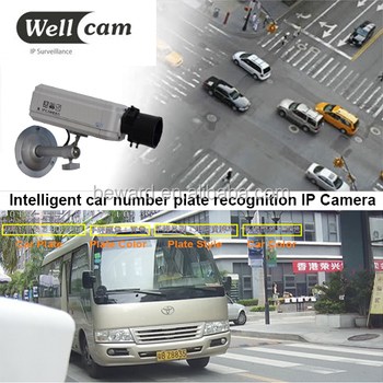 Intelligent Car Number Plate Recognition CCTV IP LPR Camera Systems
