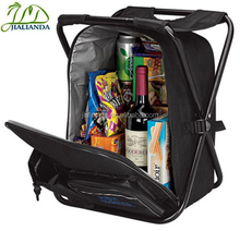 Outdoor cooler bag folding cooler chair backpack JLD-T21134