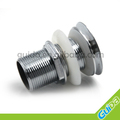 Bathroom Faucet Vessel Vanity Sink Pop Up Drain Stopper Without Overflow chrome