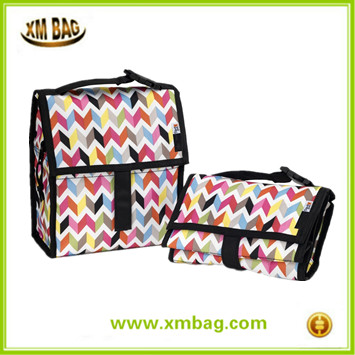 Travel Personal Cooler Foldable Freezable School Lunch Bag