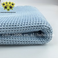 China supplier customized new knitted style terry cloth fabric tops sale