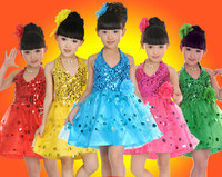 Kids Show Dance Children Dance Costumes Latine Ballroom Dancing Dresses China