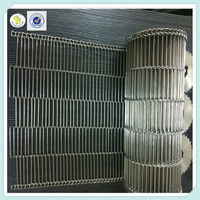 Professional production stainless steel 304 food wire mesh belt & food wire mesh belt & ss belt mesh