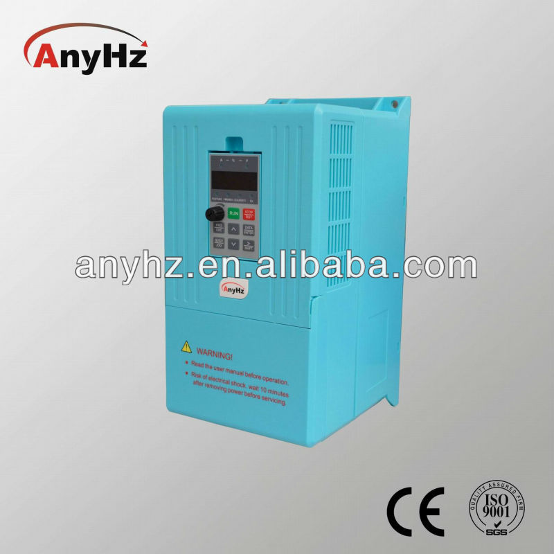 Combined module frequency inverter 50hz to 60hz single and three phase ac motor 1.5kw