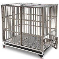 Strong Outdoor Metal Cage For Large Dog