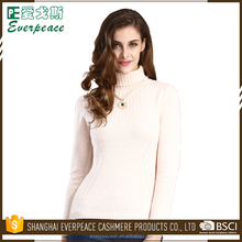 Cheap wholesale women turtle neck cashmere pullover branded pullover sweater