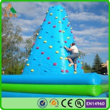 commercial giant customized used rock climbing wall for entertainment
