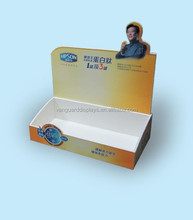 PVC Foam Cutout Counter Top Display Boxes for Promotion