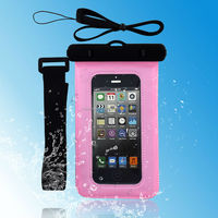 Wholesale PVC Phone Waterproof Case Pouch Bag For Cellular Phone , China Supplier