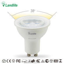 110V 230V High Lumen Spotlight Led GU10 SMD COB Ra>80 6.5W Warm White Spot Light Bulb Lamp