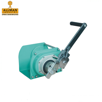 ALLMAN marine boat loading and unloading used manual hand winch with self locking brake