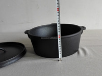 cast iron cookware/cast iron dutch oven without legs