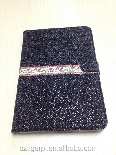 2014 Hot Selling Folio PU leather case for Ipad Air with fancy printed