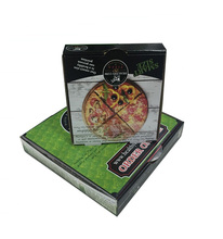 Wholesale Cheap Custom Printed Recycle Corrugated Paper Pizza Box With Logo