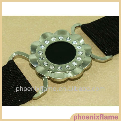 Belt and belt buckles with rhinestone