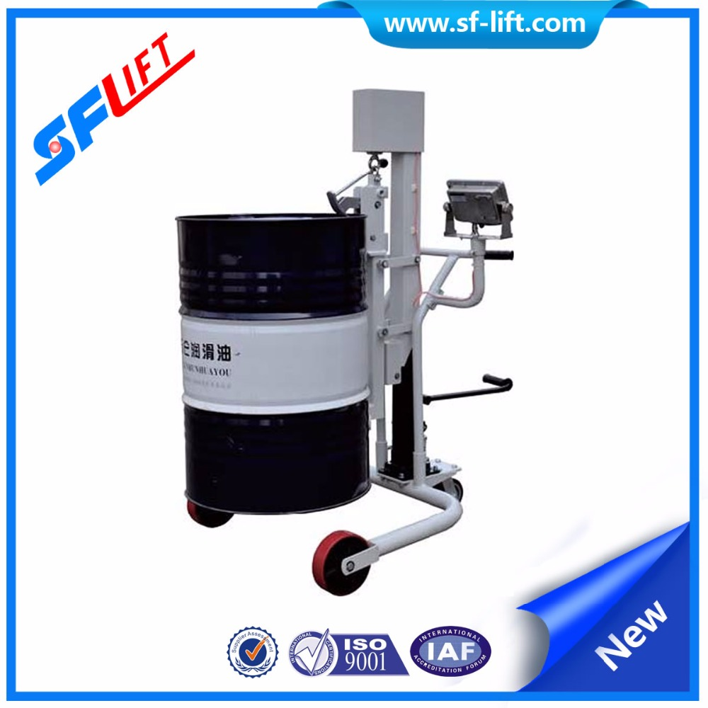 Hydraulic Drum Truck with Weighing Scale
