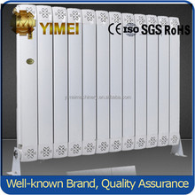 Vertical Wall Mounted Central Heating Aluminum Radiators