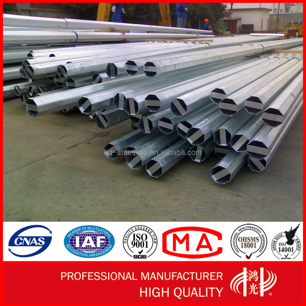 Transmission and Distribution Electrical Power Utility Steel Poles