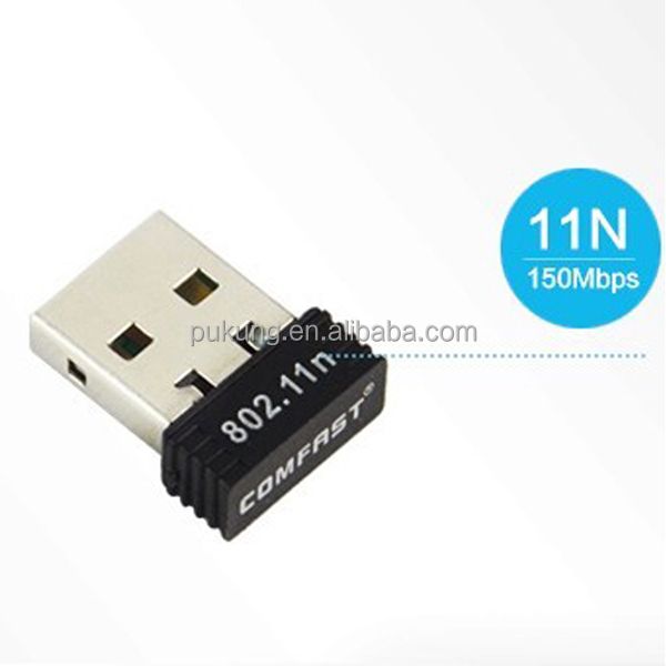 Portable Mini USB Wifi Adapter Android in Stock