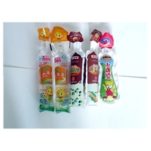 bottle shape Water Sachet,bottle shape juice packaging bag for beverage