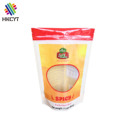 Heat Seal Transparent Aluminum Foil Nylon Ziplock Food Packaging Bag