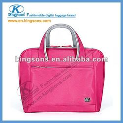 Kingsons Brand 14.1 inch Nylon Fashion lady laptop cases for girls