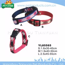 Promotional best quality fashion cute soft dog collars