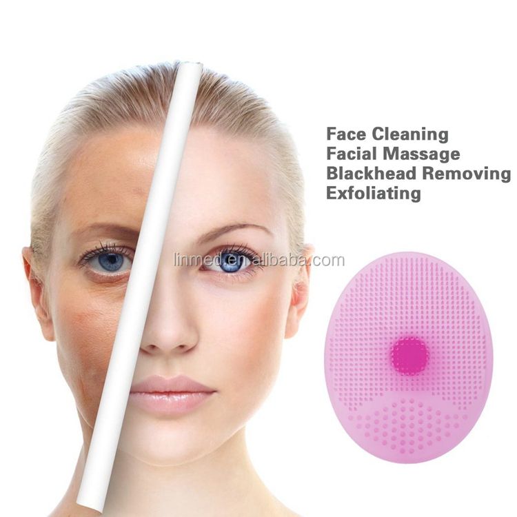 Wholesale Softest Baby Silicone Face Cleaner Mini Facial Brush