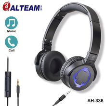 2016 Best new model wired on ear loud bass stereo headphones for cell