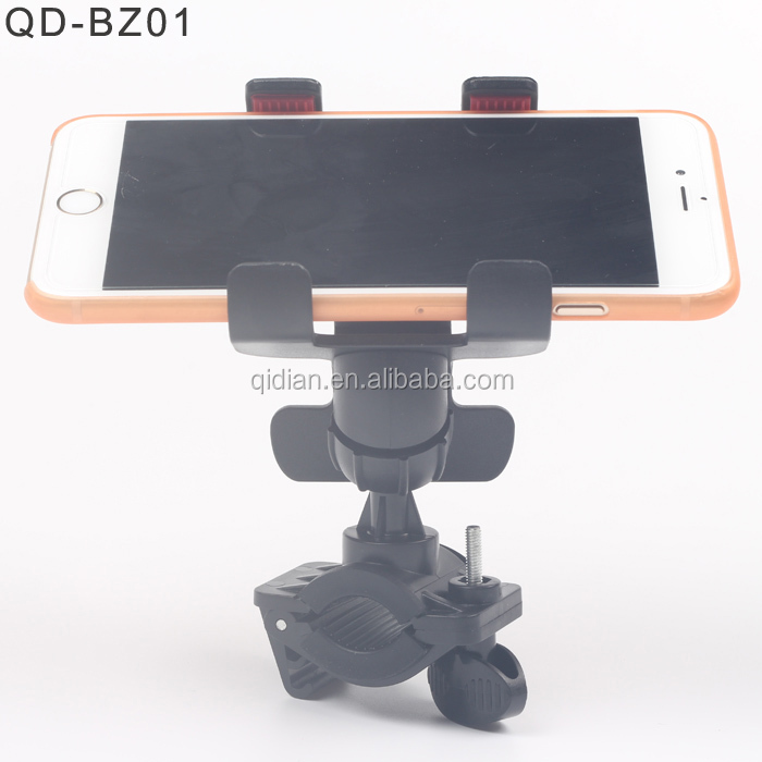 TOP Bike Multi-function flexible double clip holder for Mobile phone ,GPS, Umbrella ,Cup etc for Bicycle