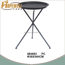 industrial metal folding tables , cast iron portable outdoor table