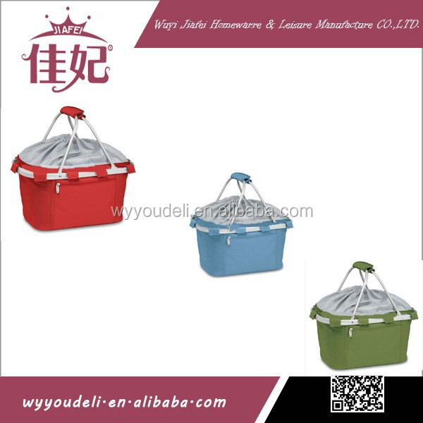 new year gift 2015 new design folding 600D basket ball shoes storage basket with lid