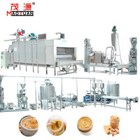 Industrial 400kg/hr Automatic Peanut Butter Making Machine Butter Production Line Peanut Paste Making Machine