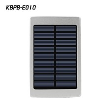 LED light 20000 mah Portable External Battery Charger Power Bank solar charger for Cell Phone