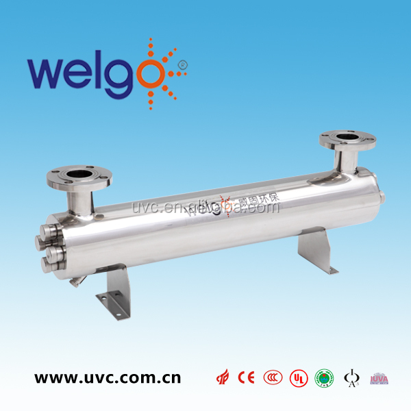 UV disinfection water treatment system of juice machine
