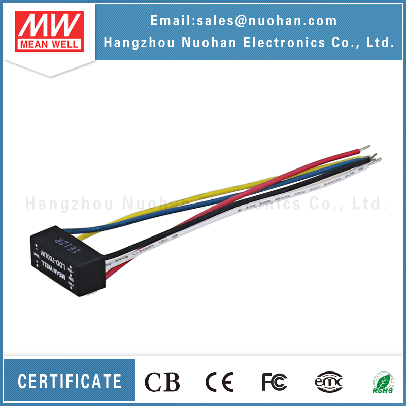 Meanwell DC DC led driver Constant Current Step-Down waterproof led driver ip67 700ma led driver