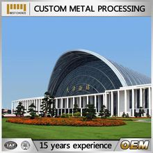 With ISO9001:2008 aluminum building construction material