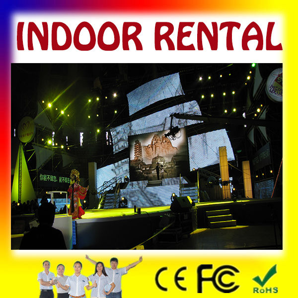 video movable led display: pantalla electronic flexible pantalla P10 para escenarios y videos