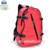 Wholesale popular cute red girls nylon weekend causal school backpack with front pocket