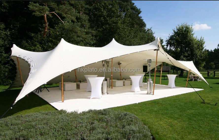 Used Party Tents For Sale >> Big White Garden Stretch Party Wedding Tent For Outdoor Events View