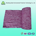 Heat sealing non-woven synthetic fiber air filter media