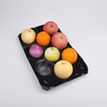 plastic blister tray for fruit peach kiwi pear grape blister packaging