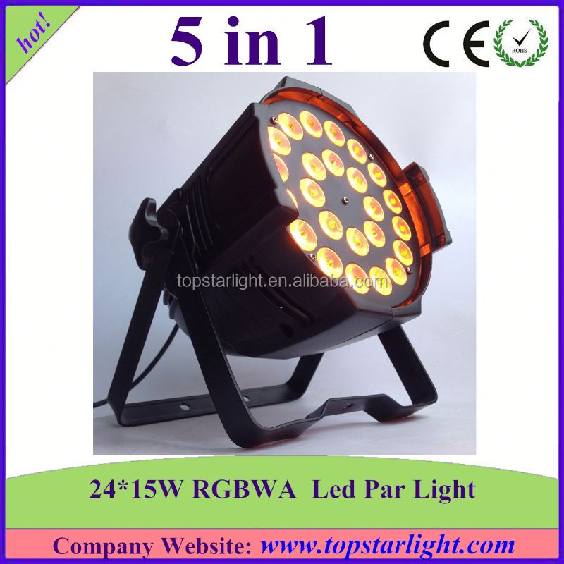 (Christmas Promotion)Made in china high quality 24x15W rgbwa led par barn door lighting